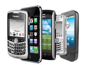 Smart Phones - information on the move